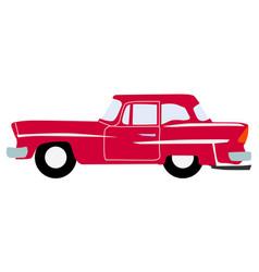 vintage luxury auto vector image vector image