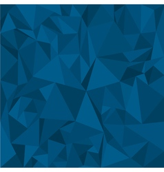 Blue Polygonal Mosaic Background for Design vector image vector image