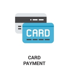 Card payment icon concept vector