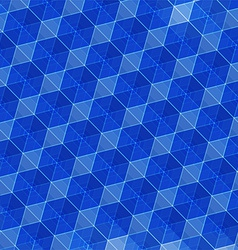 abstract blue geometric background vector image