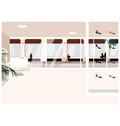 Boutique Shop Background vector