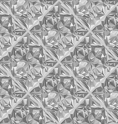 diamond surface seamless pattern vector image