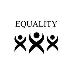 Equality- international day of zero discrimination vector