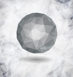 modern bubble with background vector image vector image