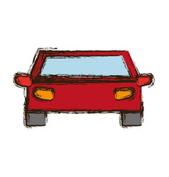 pictogram car icon vector image