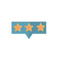 Stars favourite bar rating business commerce vector