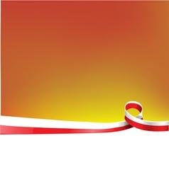 poland background flag vector image