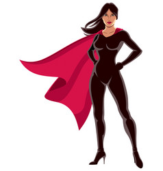 super heroine asian vector image vector image