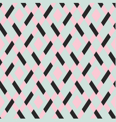 geometric seamless argyle pattern vector image vector image