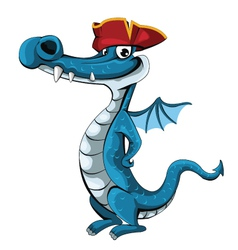 Pirate-Dragon vector image vector image