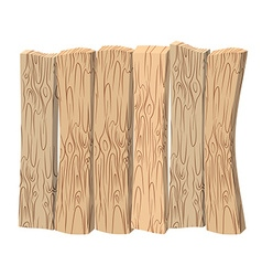 Wooden wall Old wooden boards Shield made of wood vector image