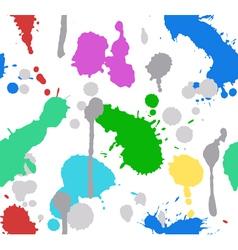 Color splash paint seamless vector