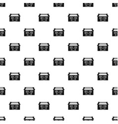 farm asia house pattern seamless vector image