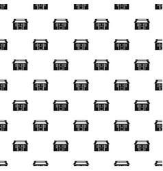Farm asia house pattern seamless vector