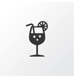 Fresh juice icon symbol premium quality isolated vector