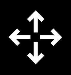 Fullscreen icon design vector