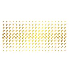 Heterosexual symbol gold halftone matrix vector