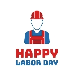 Labor day Holiday in United States celebrated on vector