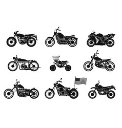 motorcycles vol 1 vector image