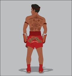 MUAY THAI TATTOO vector