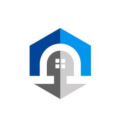 Home architecture exterior logo vector