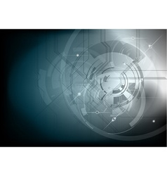 tech background neutral dark vector image vector image