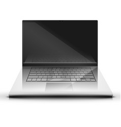 a laptop screen display illsutration vector image