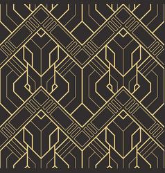 Abstract art deco geometric pattern 51 vector
