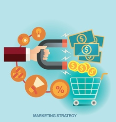 concept for business strategy vector image