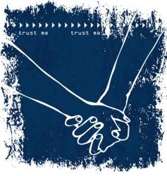 Holding handshake vector