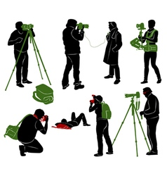 Photographer 2 vector
