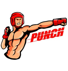 punch vector image