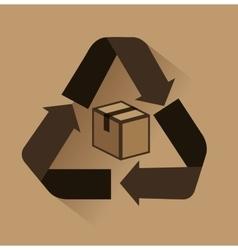 Recycle seal delivery symbol vector