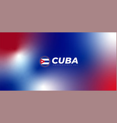 Red blue and white smoke background design cuba vector