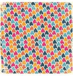 Retro seamless geometric pattern vector image
