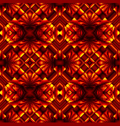seamless pattern in colors of fire vector image
