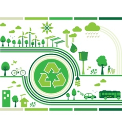 Sustainability vector