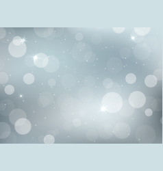 winter weather background with snowflakes vector image