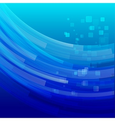 Abstract background bright and light curve blue vector image