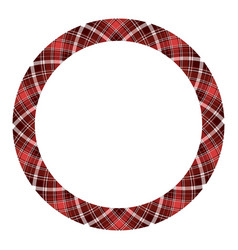 Circle borders and frames round border pattern vector