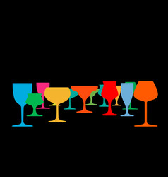 Drink alcohol vector