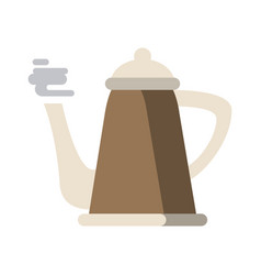 hot kettle icon image vector image