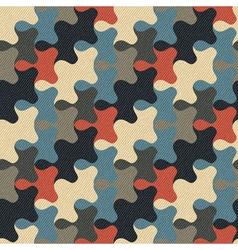 puzzle ornament vector image
