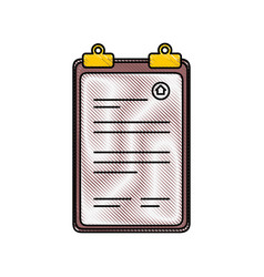 document paper holder vector image
