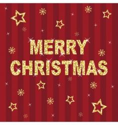 Christmas glitter vector