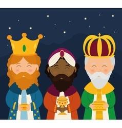 Christmas season cartoon graphic design vector image