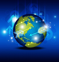 Globalization technology vector