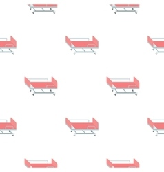 Hospital gurney icon cartoon Single medicine icon vector image