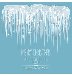 Icicles Background vector