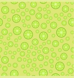 lemon fruits seamless pattern vector image